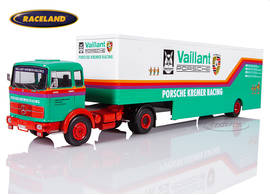 Mercedes LPS 1632 race car truck Vaillant Porsche Kremer Racing 1976-1979