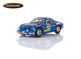 Alpine Renault A110 1300S Guinness 19° 1000km Spa WSC 1970 Jacquemin/Palayer