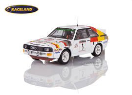 Audi Sport Quattro Audi Sport UK winner Rally of Wales 1986 Mikkola/Hertz