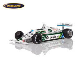 Williams FW07B Cosworth Saudia F1 winner British GP 1980 World Champion Alan Jones