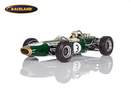 Brabham BT19 Repco V8 F1 winner German GP 1966 World Champion Jack Brabham