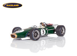 Brabham BT24 Repco V8 F1 winner French GP 1967 Jack Brabham