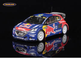 Peugeot 208 WRX Red Bull winner FIA World-Rallycross Lohéac 2015 Timmy Hansen