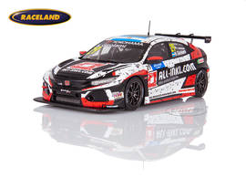 Honda Civic Type R TCR ALL-INKL.COM Münnich winner WTCR Hungaroring race 1 2019 Néstor Girolami