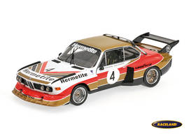 BMW 3.5 CSL Hermetite Products winner 6H Silverstone 1976 Fitzpatrick/Walkinshaw