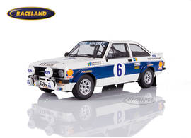 Ford Escort RS 1800 Mk II Ford Motor Co. Ltd. winner Rally Acropolis 1977 Waldegard/Thorszelius