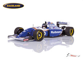 Williams-Renault FW16 F1 Team Rothmans 2° Brazilian GP 1994 Damon Hill