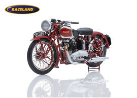 Triumph Speed Twin 1939 dark red