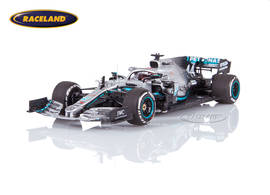 Mercedes AMG Petronas W10 EQ Power+ F1 2° GP USA World Champion 2019 Lewis Hamilton