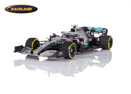 Mercedes AMG Petronas W10 EQ Power+ F1 winner US GP 2019 Valtteri Bottas
