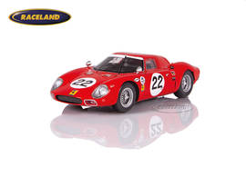 Ferrari 250 LM North American Racing Team 9° 24H Daytona 1966 Rindt/Bondurant