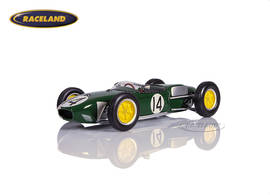 Lotus 18 Climax F1 Team Lotus 3° Portugal GP 1960 Jim Clark