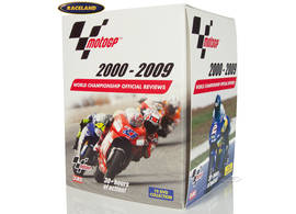 DVD film collection MotoGP 2000-2009 on 10 DVDs