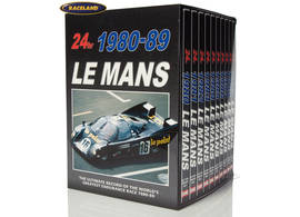 DVD collection Le Mans 24 Hours 1980-1989 with 10 DVDs