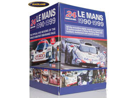 DVD collection Le Mans 24 Hours 1990-1999 with 10 DVDs
