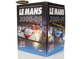 DVD collection Le Mans 24 Hours 2000-2009 with 10 DVDs
