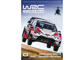DVD WRC World Rally Championship 2020 Official WRC review on 2 DVDs