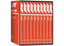 DVD Collection Formula 1 1980-1989 on 10 discs