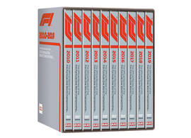 DVD Collection Formula 1 2010-2019 on 10 discs