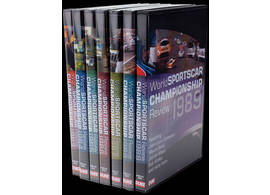 DVD-Set World Sportscar Championship WSC 1983-1989 set of 7 DVDs