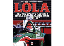 Lola - all the sports racing & single seater racing cars 1978 to 1997