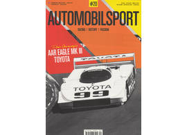 Automobilsport Magazin #20 English version Dan Gurney's AAR Eagle MKIII Toyota