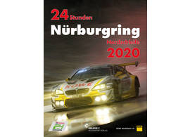 Nürburgring 24 Hours 2020 official yearbook