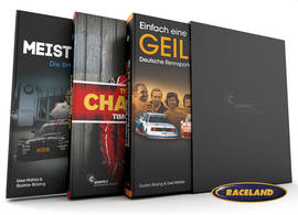 Trilogy - collectors slipcase with 3 books: Geile Zeit, Schnitzer Story and Champion Timo Bernhard