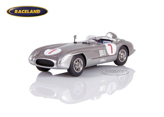 Mercedes-Benz 300 SLR winner Swedish GP Kristianstad 1955 Juan Manuel Fangio