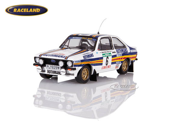 Ford Escort MkII RS1800 Rothmans Rally Team Portugal Rally 1981 Vatanen/Richards