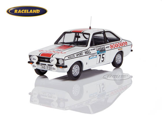 Ford Escort RS Mk2 RAC Rallye 1977 Jackson/Howard