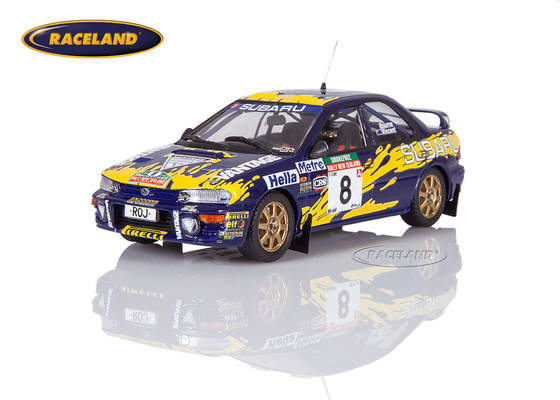 Subaru Impreza 555 Subaru Rally Team Australia 5° Rally New Zealand 1997 Peter Bourne, Craig Vincent
