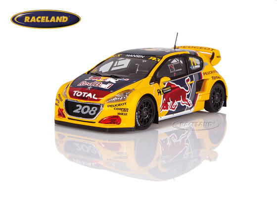 Peugeot 208 WRX Red Bull Peugeot Total WRX Great Britain 2018 Kevin Hansen