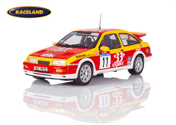 Ford Sierra RS Cosworth 33 Export 8° Tour de Corse Rallye France Auriol/Occelli