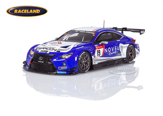 Lexus RC F GT3 Bandoh Racing by Novel and Ring Racing Nürburgring 24H 2019 Farnbacher/Yoshimoto/Seefried/Tischner