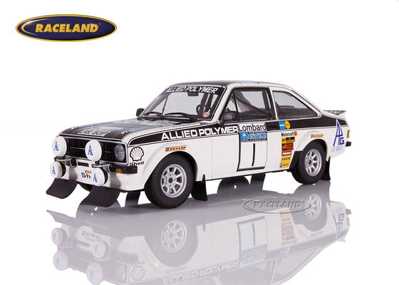 Ford Escort RS1800 MkII Allied Polymer winner RAC Lombard Rally 1975 Mäkinen/Liddon