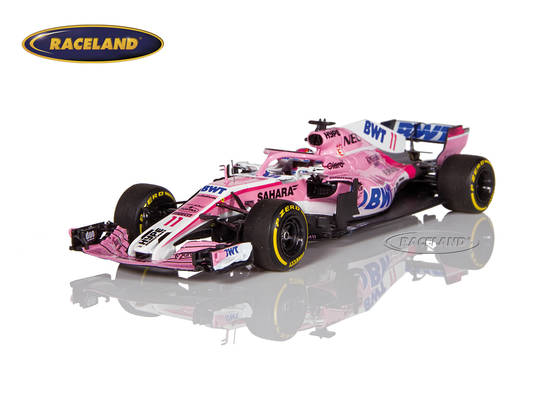 Force India VJM11 Mercedes Sahara Force India F1 2018 Sergio Pérez