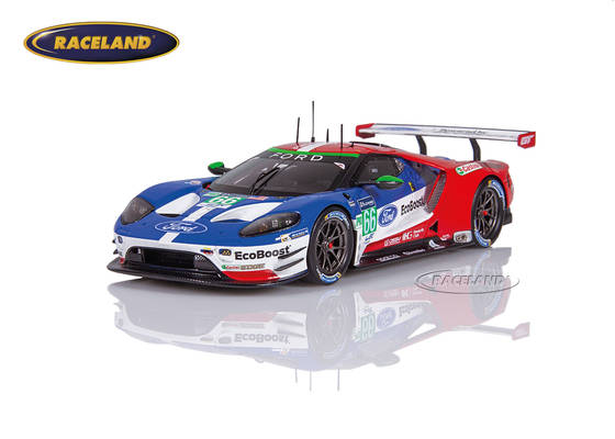Ford GT LM GTE Chip Ganassi UK GTEPro 27° Le Mans 2017 Johnson/Mücke/Pla