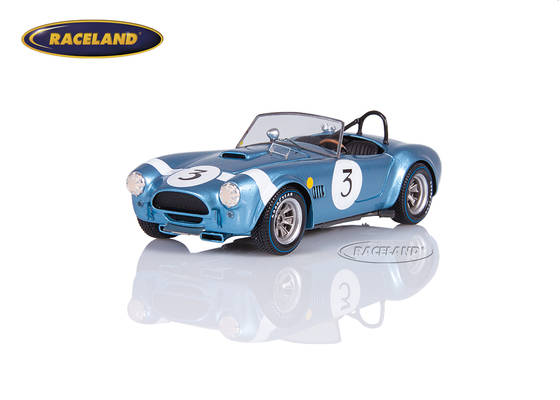Shelby Cobra Roadster 9° 500 km Spa WSC 1964 winner GT Bob Bondurant