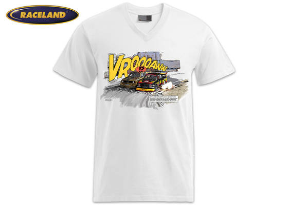 Battle of the Stone Grandstand Racing Cult Comic Premium T-Shirt