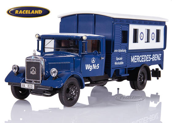 Mercedes-Benz Lo 2750 box truck Mercedes-Benz Rennabteilung 1935 silver arrows workshop truck
