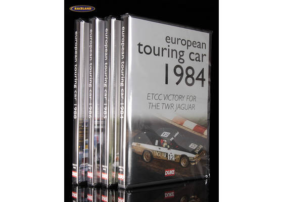 DVD Collection European Touring Car Championship 1984-1988 with 4 discs