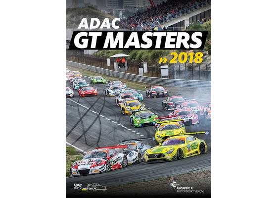 ADAC GT Masters 2018 the official yearbook